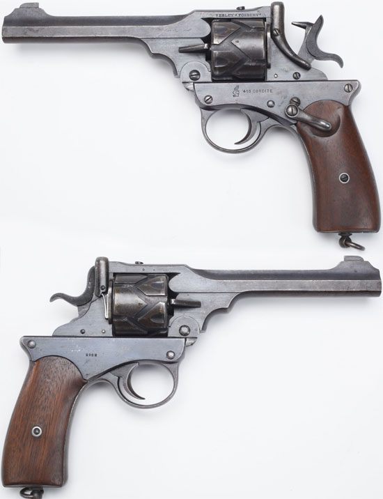 Webley-Fosbery образца 1902 года