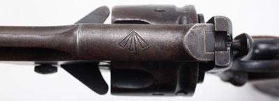 Webley Mk I (вид сверху)