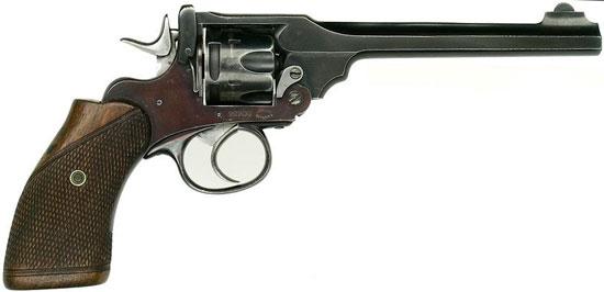 Webley Mk III caliber .38 образца 1932 года