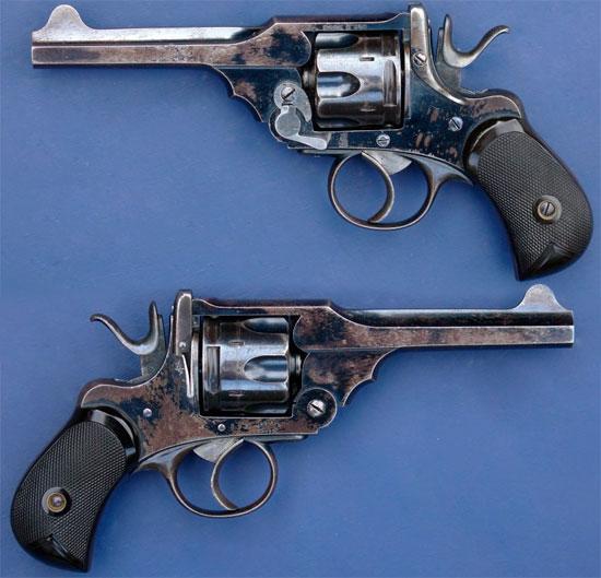 Webley Mk II caliber .38 (Webley Mk II Pocket Revolver)