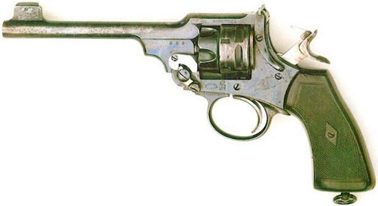 Webley Mk VI калибра .22