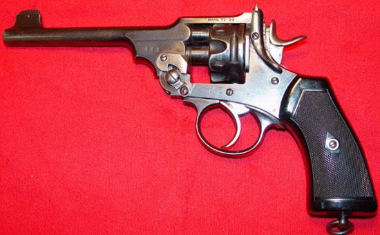 Webley Mk VI .22 Training Revolver с укороченным барабаном