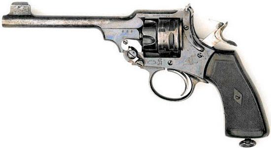 Webley Mk VI .22 Training Revolver с барабаном ступенчатой формы