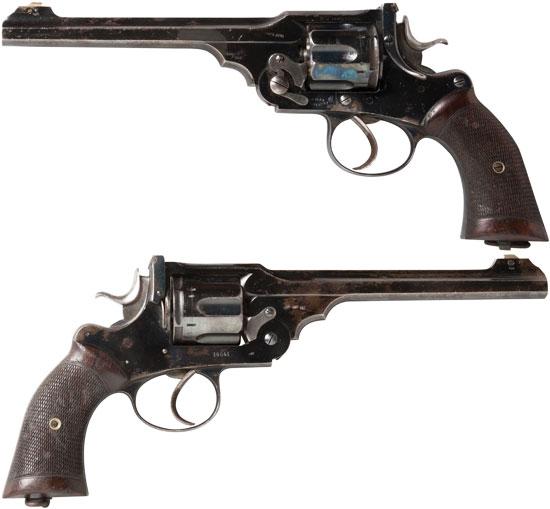 Webley «WG» Target Model образца 1896 года