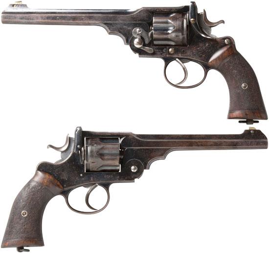 Webley «WG» Target Model образца 1893 года