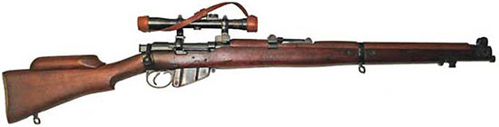 Модель No.1 Mk III* HT с упором для щеки