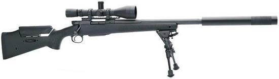 FN A5 Tactical SPR с установленным глушителем