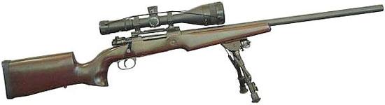 Снайперская винтовка IMBEL .308 AGLC