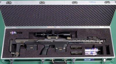 DSR-1 в кейсе для переноски, в комплекте с аксессуарами