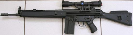 Снайперская винтовка HK G3 SG1
