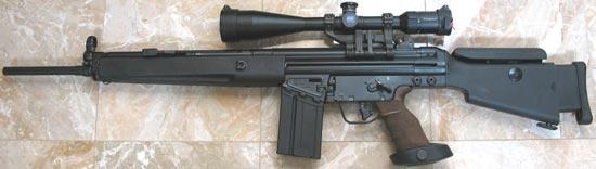 HK SR9T с магазином на 20 патронов