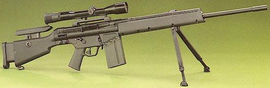 Снайперская винтовка MSG-90 с магазином на 20 патронов