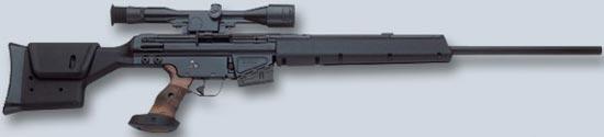 Снайперская винтовка HK PSG-1