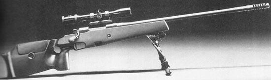 Снайперская винтовка Mauser 86SR на сошках