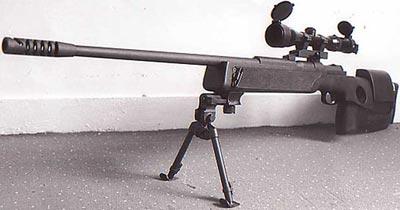 Mauser SP66 на сошках