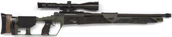 Mauser SR-93 в варианте использовавшемся Голландской полицией