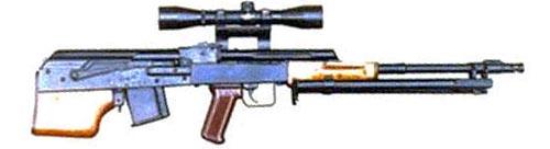 Вепр прототип снайперской винтовки