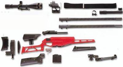 Blaser R 93 LRS основные модули и компоненты
