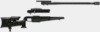 Blaser R 93 Tactical 2 основные модули