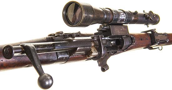 SMLE Mk III T. Ранняя модель