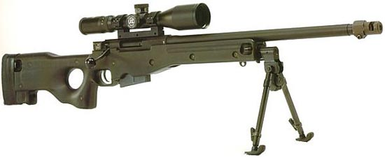 Accuracy International Arctic Warfare (AI AW 7,62) калибр 7.62x51 мм