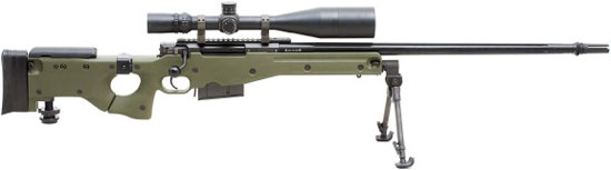 Accuracy International Arctic Warfare Magnum Folding (AI AWM F 300WM) калибр .300 Winchester Magnum