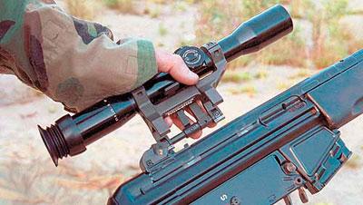 Крепление оптического прицела HK 33 SG1