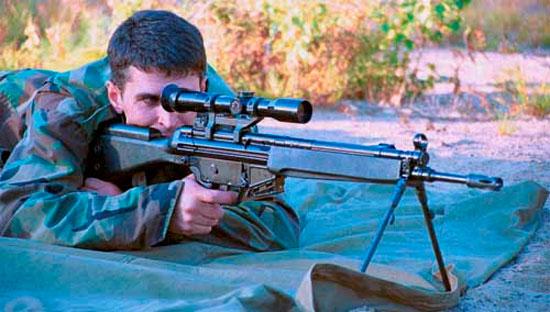 HK 33 SG1 при использовании
