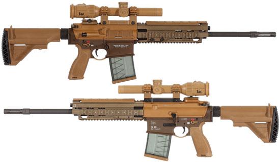 Heckler & Koch HK G28 в варианте Patrol