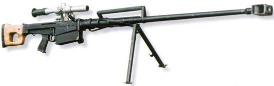 В-94 с установленным оптическим прицелом ПСО-1