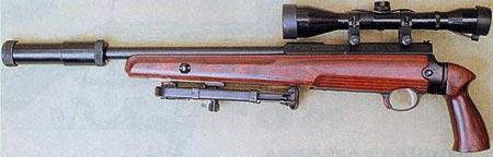 СВ-99 с пистолетной рукояткой