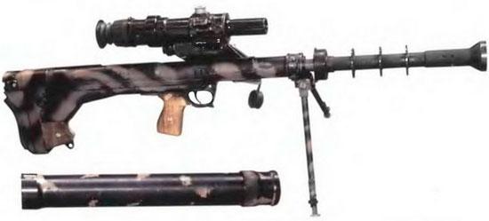 ОЦ-44 (крышка глушителя снята)