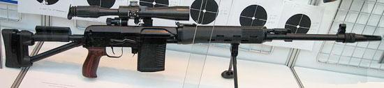 СВДСМ в варианте под патрон .308 Win