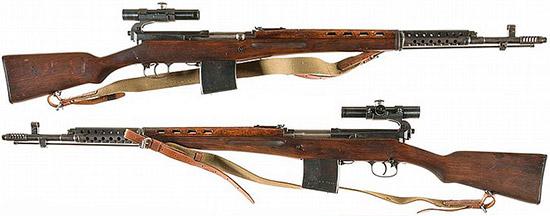 Снайперская винтовка СВТ-40