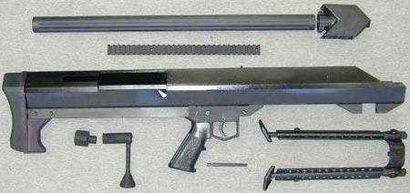 Barrett M99 неполная разборка