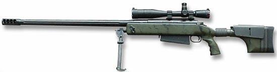McMillan TAC-50 на сошках