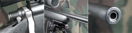 виды на элементы винтовки Robar QR2