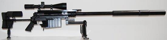 Windrunner .408 XM Series с установленным глушителем