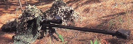 RAI M500 при стрельбе