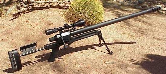 Снайперская винтовка Rebel .50 BMG