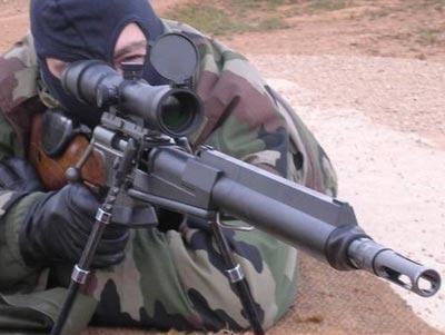 FR F2 при стрельбе