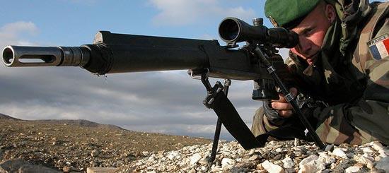 FR F2 используемая французским снайпером
