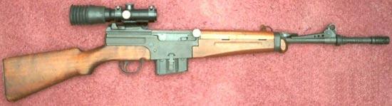 MAS 49-56 снайперский вариант