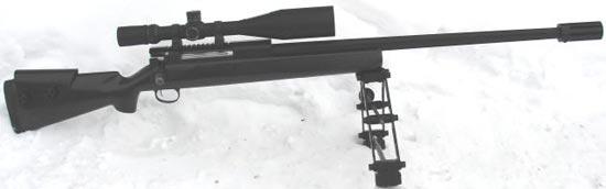 Снайперская винтовка Лобаева СВЛ, калибр .408 Chey-Tac
