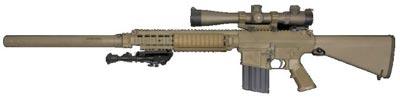 М110 SASS установленным глушителем