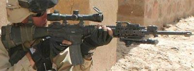 SAM-R при стрельбе