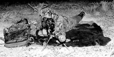 CheyTac Intervention M-200 при стрельбе