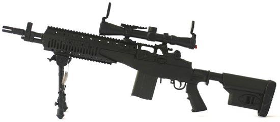 Снайперская винтовка модели M14 - США - Снайперские винтовки ...