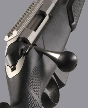вид на элементы управления Tikka T3 Tactical