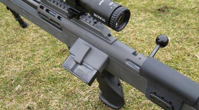 Keppeler KS V Bullpup Sniper вид на магазин